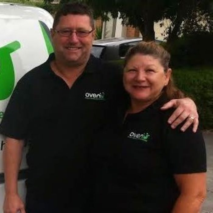 Jamie and Gina Albury and Wodonga Oven Cleaners