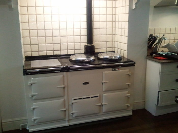 AGA stove cleaning service
