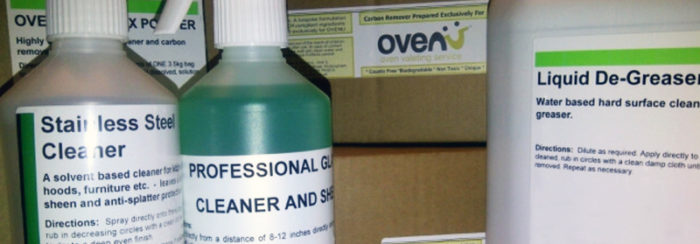 Professional Oven cleaning products